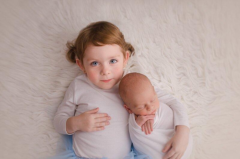 www.niezapominajka-art.pl fotografia noworodkowa rodzeństwo