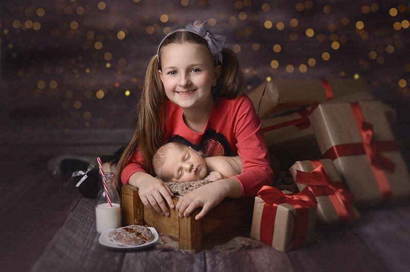 dziecięce sesje świąteczne Opole