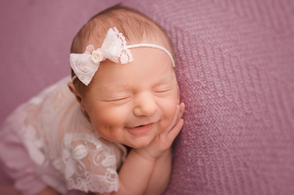 noworodki na fotografiach