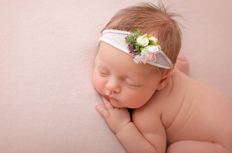 sesje fotograficzne noworodków