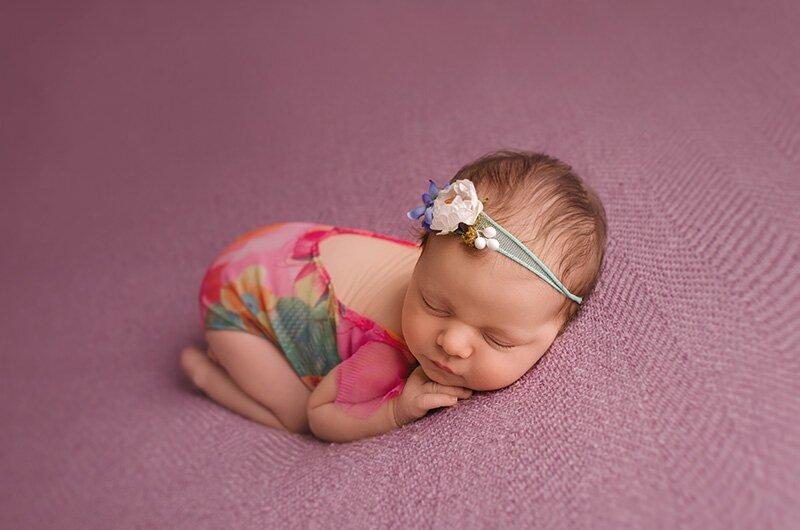 profesjonalna sesja fotograficzna noworodka