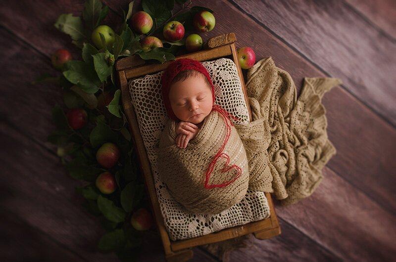 niezapominajka-art profesjonalne studio fotografia noworodków