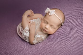 słodkie noworodki fotograf